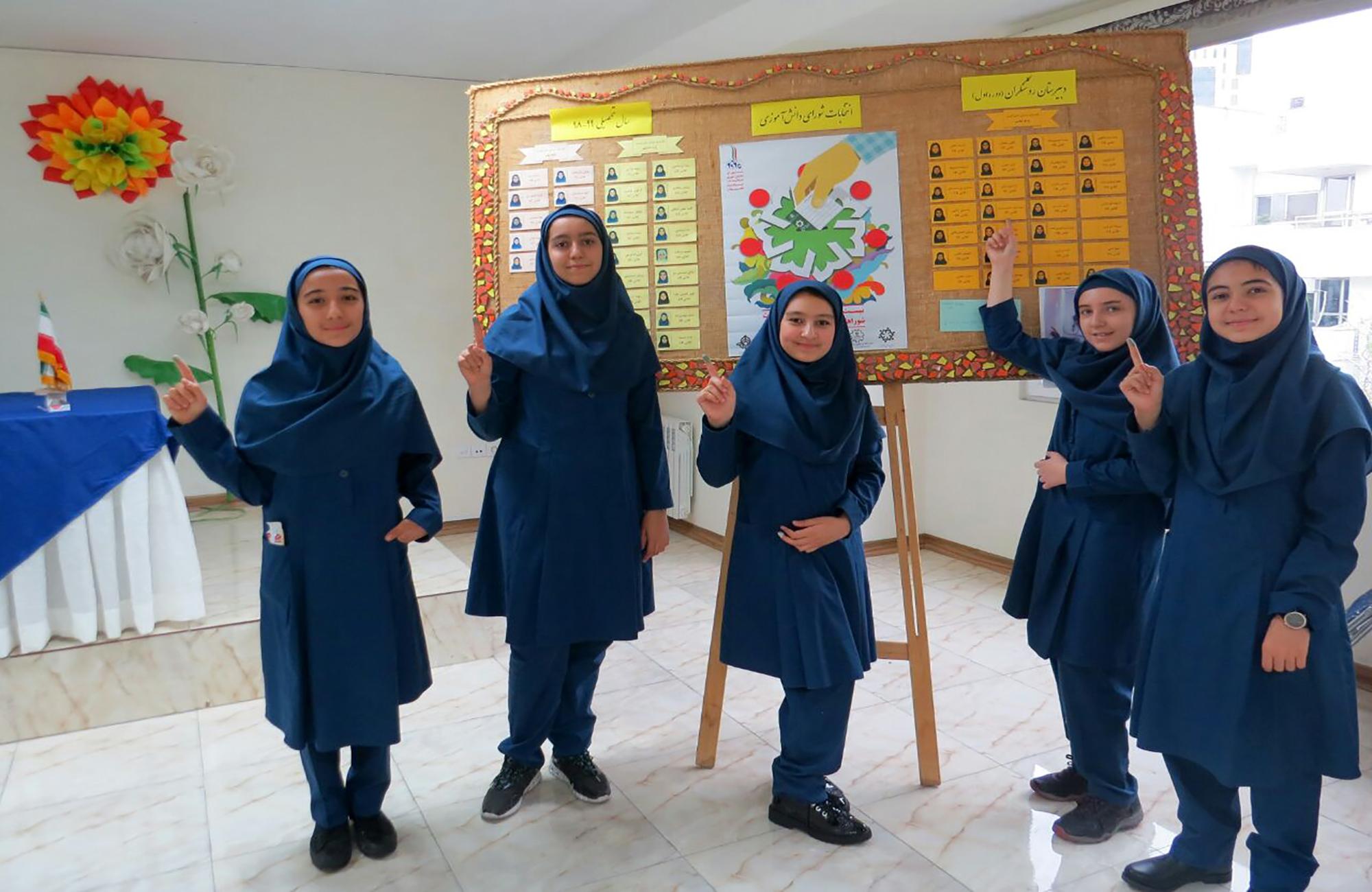 انتخابات شورای دانش آموزی (6)