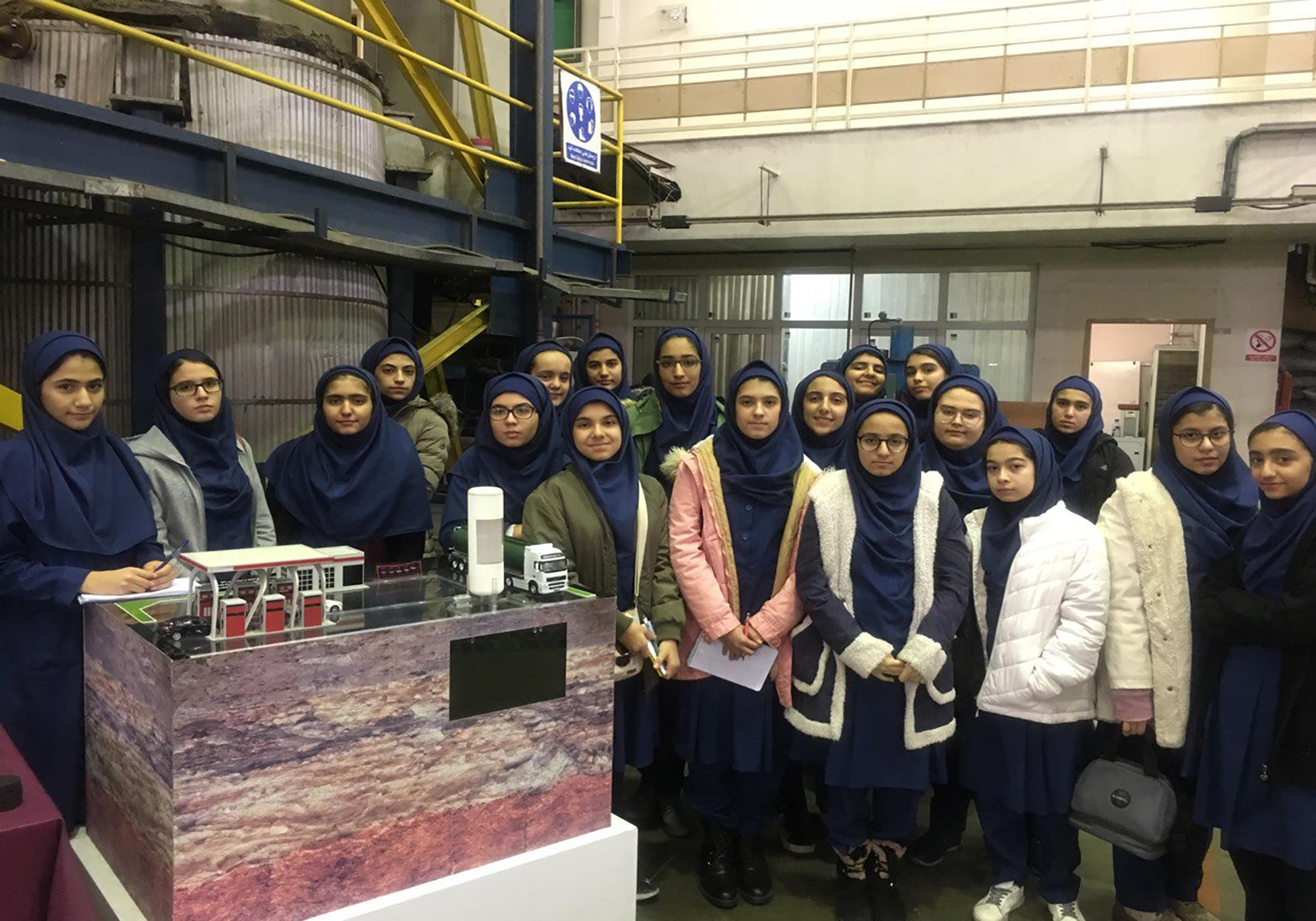 بازدید علمی پژوهشگاه صنعت نفت (2)