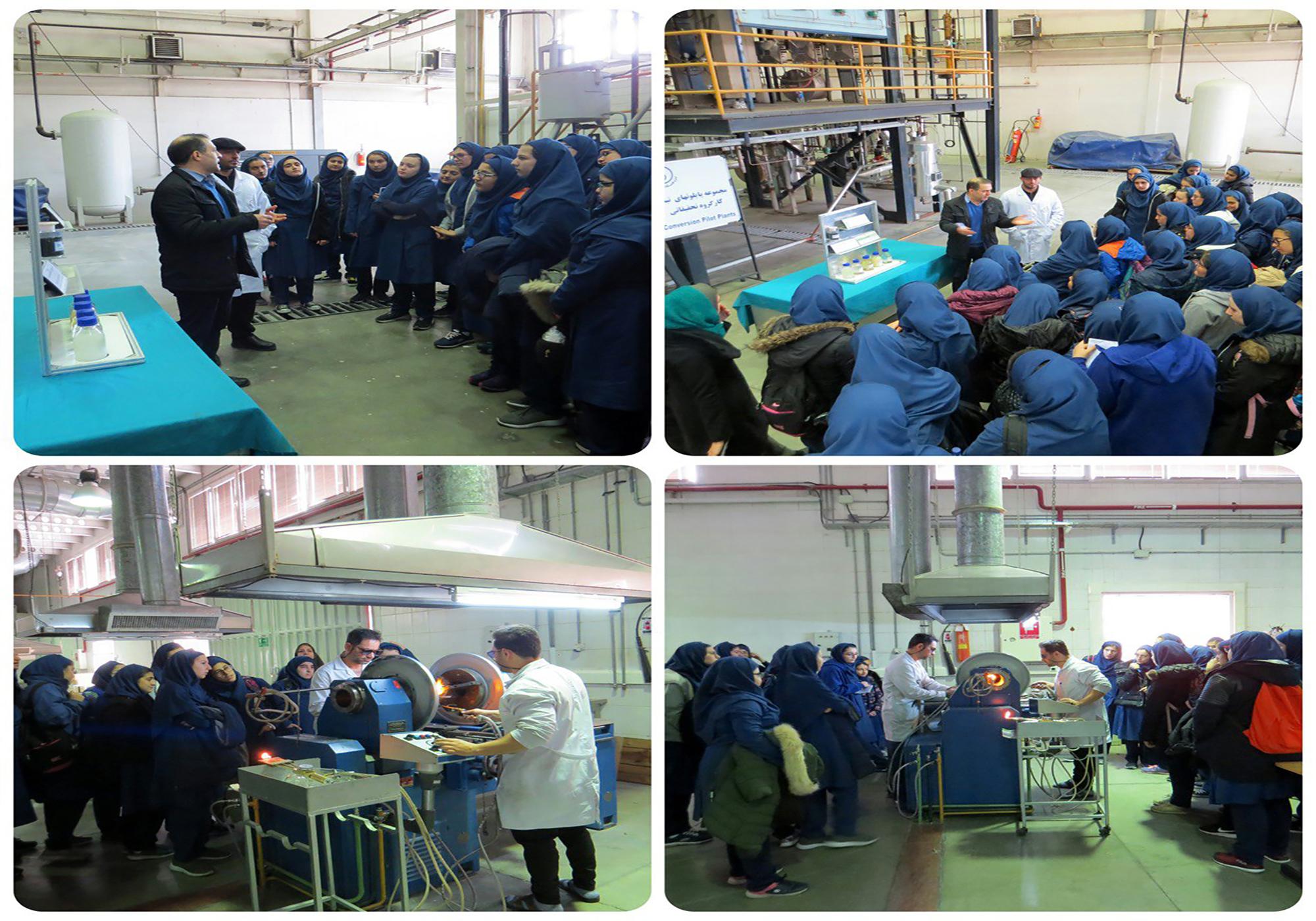 بازدید علمی پژوهشگاه صنعت نفت (4)